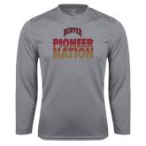 Syntrel Performance Steel Longsleeve Shirt-Pioneer Nation