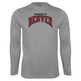 Performance Steel Longsleeve Shirt-University of Denver