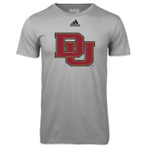 Adidas Climalite Sport Grey Ultimate Performance Tee-DU
