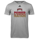 Adidas Climalite Sport Grey Ultimate Performance Tee-Pioneer Nation