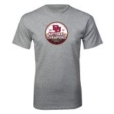 Grey T Shirt-2015 National Champions