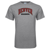 Grey T Shirt-Denver Grandpa