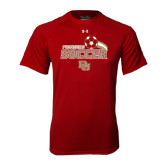 Under Armour Cardinal Tech Tee-Soccer Swoosh