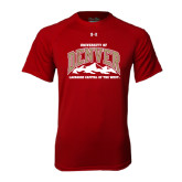 Under Armour Cardinal Tech Tee-Lacrosse Capital of the West