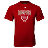 Under Armour Cardinal Tech Tee-NCAA Division I Lacrosse Champs