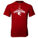 Under Armour Cardinal Tech Tee-Mens NCAA Lacrosse Champs