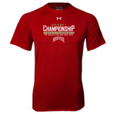 Under Armour Cardinal Tech Tee-Mens Lacrosse Champions