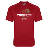Under Armour Cardinal Tech Tee-Pioneers Lacrosse Modern