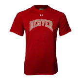 Under Armour Cardinal Tech Tee-Arched Denver