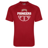 Under Armour Cardinal Tech Tee-Pioneers Basketball Half Ball