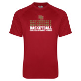 Under Armour Cardinal Tech Tee-Basketball Repeating