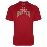 Under Armour Cardinal Tech Tee-University of Denver