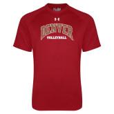 Under Armour Cardinal Tech Tee-Denver Volleyball