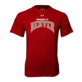 Under Armour Cardinal Tech Tee-Arched University of Denver
