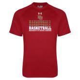 Under Armour Cardinal Tech Tee-DU Basketball