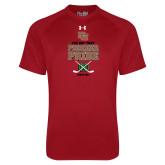 Under Armour Cardinal Tech Tee-Pioneer Pride Hockey