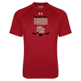 Under Armour Cardinal Tech Tee-Pioneer Pride DU Hockey