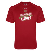 Under Armour Cardinal Tech Tee-University of Denver Pioneers Hockey