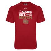 Under Armour Cardinal Tech Tee-Game Set Match