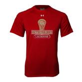 Under Armour Cardinal Tech Tee-Denver Pioneers Lacrosse Stick