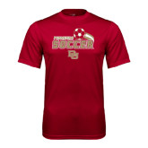 Syntrel Performance Cardinal Tee-Soccer Swoosh