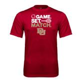 Syntrel Performance Cardinal Tee-Tennis Game Set Match