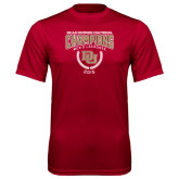 Syntrel Performance Cardinal Tee-NCAA Division I Lacrosse Champs