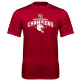 Syntrel Performance Cardinal Tee-Mens NCAA Lacrosse Champs
