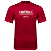 Syntrel Performance Cardinal Tee-Mens Lacrosse Champions