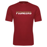 Syntrel Performance Cardinal Tee-Pioneers Two Tone