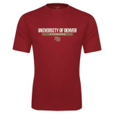 Syntrel Performance Cardinal Tee-University of Denver Pioneers Bar Stacked