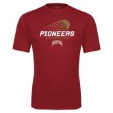 Syntrel Performance Cardinal Tee-Pioneers Lacrosse Modern