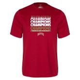 Syntrel Performance Cardinal Tee-2017 NCAA Division I Mens Hockey Champions
