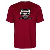 Syntrel Performance Cardinal Tee-2017 Mens NCAA Hockey National Champions