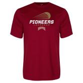 Performance Cardinal Tee-Pioneers Lacrosse Denver