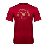Syntrel Performance Cardinal Tee-Arched University of Denver Lacrosse