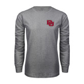 Grey Long Sleeve TShirt-DU