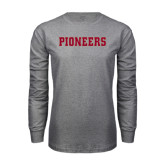 Grey Long Sleeve TShirt-Pioneers