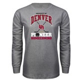 Grey Long Sleeve T Shirt-2015 Homecoming