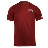 Russell Core Performance Cardinal Tee-Primary Mark