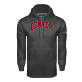 Under Armour Carbon Performance Sweats Team Hood-Arched Denver 2 Color Version