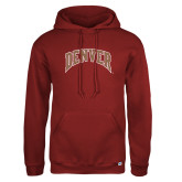 Russell DriPower Cardinal Fleece Hoodie-Primary Mark