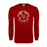 Cardinal Long Sleeve T Shirt-Soccer Circle