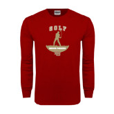 Cardinal Long Sleeve T Shirt-Golf Stacked