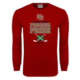 Cardinal Long Sleeve T Shirt-Sioux Me