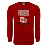 Cardinal Long Sleeve T Shirt-Pioneer Pride