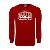 Cardinal Long Sleeve T Shirt-Lacrosse Capital of the West