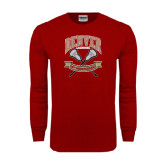 Cardinal Long Sleeve T Shirt-Lacrosse 50th Anniversary