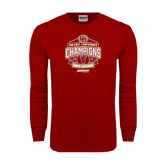 Cardinal Long Sleeve T Shirt-2015 Big East Mens Lacrosse