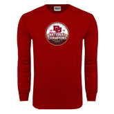 Cardinal Long Sleeve T Shirt-2015 National Champions